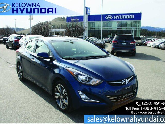 2015 hyundai elantra limited 4dr sedan kelowna british. Black Bedroom Furniture Sets. Home Design Ideas