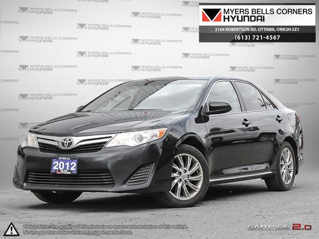2012 toyota camry ottawa ontario used car for sale 2731898. Black Bedroom Furniture Sets. Home Design Ideas