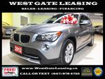 2012 BMW X1 xDrive  PANORAMIC SUNROOF  in Vaughan, Ontario