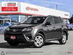 2014 Toyota RAV4 LE Toyota Certified, One Owner, No Accidents, Toyota Serviced in London, Ontario
