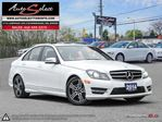 2014 Mercedes-Benz C-Class 4Matic C300 AWD ONLY 73K! **TECHNOLOGY PKG** CLN CARPROOF in Scarborough, Ontario