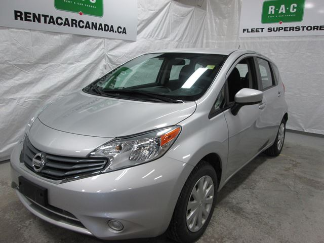 2015 nissan versa 1 6 sv north bay ontario used car for. Black Bedroom Furniture Sets. Home Design Ideas