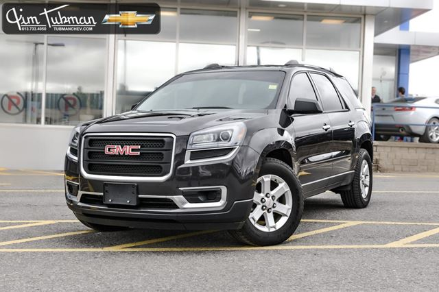 2016 gmc acadia sle2 ottawa ontario car for sale 2731965. Black Bedroom Furniture Sets. Home Design Ideas