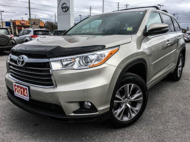 2014 toyota highlander le le fwd convenience pkg one owner cobourg ontario used car for. Black Bedroom Furniture Sets. Home Design Ideas