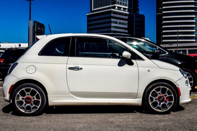 2014 fiat 500 sport sunroof bluetooth keyless entry clean. Black Bedroom Furniture Sets. Home Design Ideas