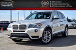 2014 BMW X3 xDrive28i Navi Pano Sunroof Backup Cam Bluetooth Heated Front Seats 18Alloy Rims in Bolton, Ontario