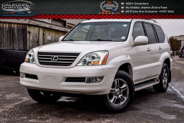 2009 Lexus GX 470 4x4 7 Seater Navi Sunroof DVD Bluetooth Leather Heated Seats Pwr Seats 17Alloy Rims in Bolton, Ontario