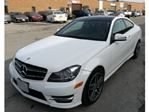 2015 Mercedes-Benz C-Class 2dr Cpe C350 4MATIC w/Avantgarde Edition & Sport in Mississauga, Ontario