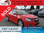 2014 Chevrolet Cruze 2LT in Campbell River, British Columbia