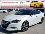 2016 Nissan Maxima Platinum w/all leather,NAV,pan roof,climate,heated/cooled seats,rear cam in Cambridge, Ontario
