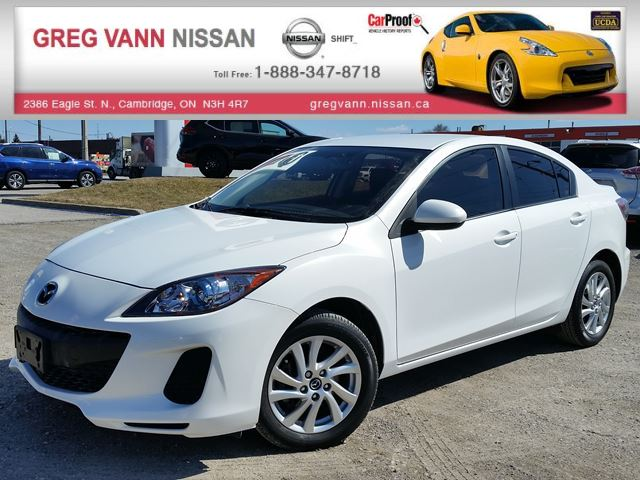 2013 MAZDA MAZDA3 GS-SKY w/VIPER remote start keyless,Clarion sound system & NAV package,alloys,heated seats,rear cam in Cambridge, Ontario