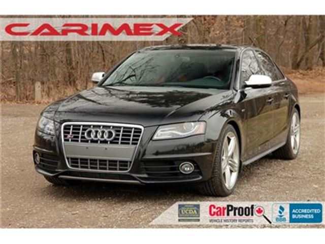2011 AUDI S4 3.0 Premium   S-Line   CERTIFIED + E-Tested in Kitchener, Ontario