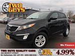 2012 Kia Sportage LX FWD (A6) NICE LOCAL TRADE IN! in St Catharines, Ontario
