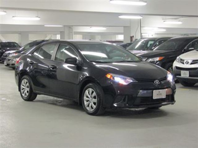 2015 toyota corolla le no accident toyota warranty remaining toronto ontario used. Black Bedroom Furniture Sets. Home Design Ideas