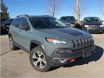 2015 Jeep Cherokee Trailhawk**LEATHER**BACK UP CAMERA** in Mississauga, Ontario
