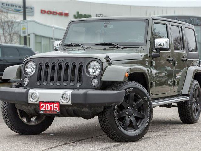 2015 jeep wrangler unlimited sahara mississauga ontario used car. Cars Review. Best American Auto & Cars Review