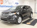 2015 Ford Edge SEL- Ecoboost! AWD! Back up cam wrapped in a beautifully black SUV shell. in Edmonton, Alberta