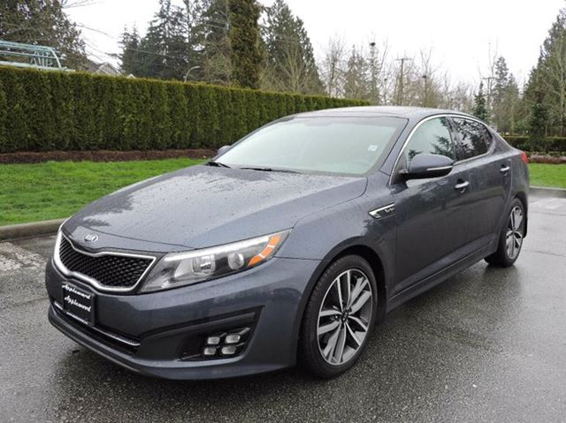2014 kia optima sx turbo surrey british columbia used. Black Bedroom Furniture Sets. Home Design Ideas