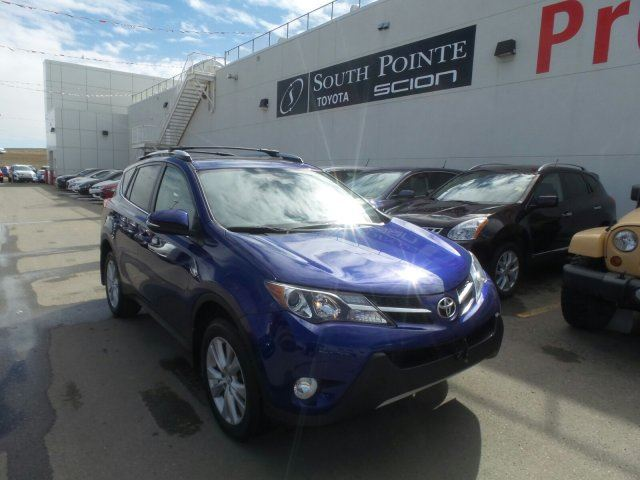 2015 toyota rav4 limited calgary alberta used car for sale 2732869. Black Bedroom Furniture Sets. Home Design Ideas