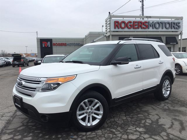 2013 ford explorer xlt 4wd 7 pass navi reverse cam oakville ontario used car for sale. Black Bedroom Furniture Sets. Home Design Ideas