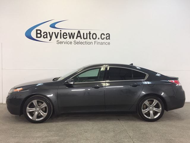 2012 ACURA TL - 3.7L! AWD! SUNROOF! LEATHER! BLUETOOTH! CRUISE! in Belleville, Ontario