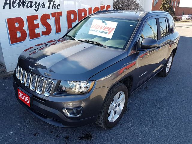 2016 jeep compass sport north oshawa ontario used car for sale 2732686. Black Bedroom Furniture Sets. Home Design Ideas