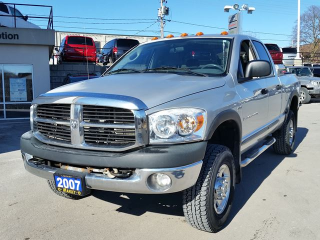 2007 dodge ram 2500 power wagon silver manley motors for Manley motors used cars