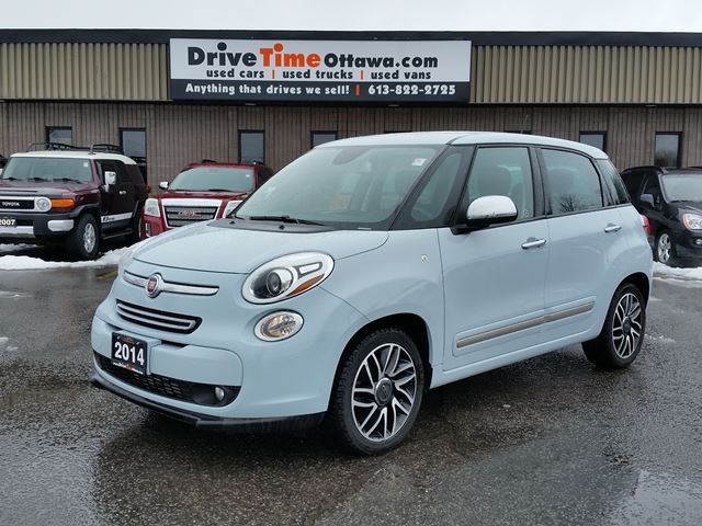 2014 fiat 500l lounge blue drive time ottawa. Black Bedroom Furniture Sets. Home Design Ideas