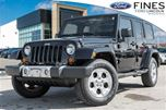 2013 Jeep Wrangler Unlimited Sahara in Bolton, Ontario