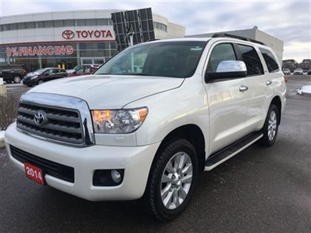 2014 Toyota Sequoia Platinum with Brand New Tires! Toyota Certified! in Stouffville, Ontario