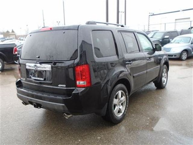 2009 honda pilot exl leather sunroof 8 passenger guelph ontario used car for sale 2733965. Black Bedroom Furniture Sets. Home Design Ideas