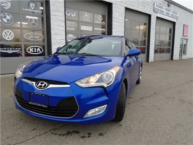 2012 Hyundai Veloster Navgation Panaramic roof, Back up camera Tech pack in Guelph, Ontario
