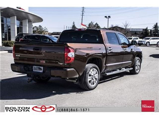 2017 toyota tundra 4x4 crewmax platinum 5 7 6a like new 1794 edition bolton ontario car for. Black Bedroom Furniture Sets. Home Design Ideas