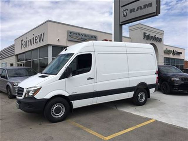 2014 mercedes benz sprinter standard roof v6 burlington for Mercedes benz sprinter price list