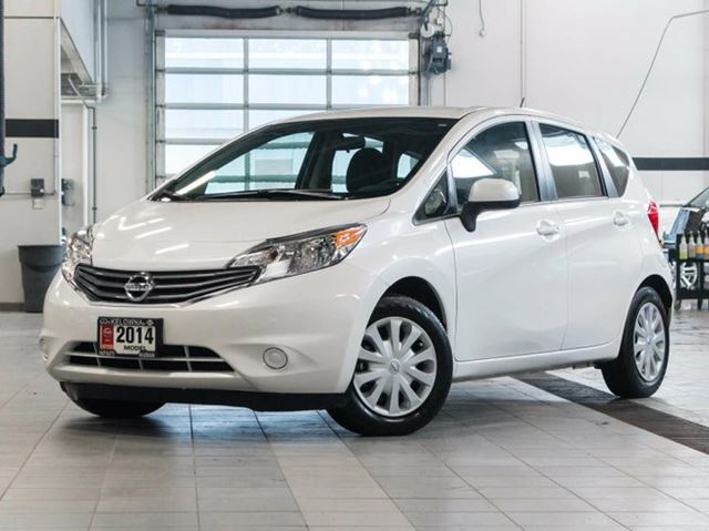 2014 nissan versa sv kelowna british columbia used car. Black Bedroom Furniture Sets. Home Design Ideas