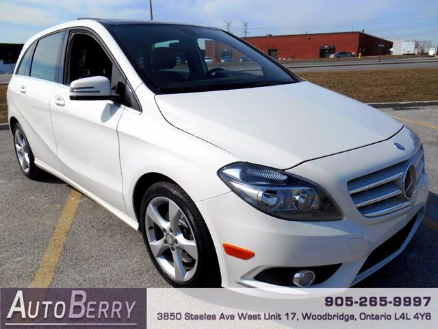 2013 mercedes benz b class b250 pano roof woodbridge. Black Bedroom Furniture Sets. Home Design Ideas