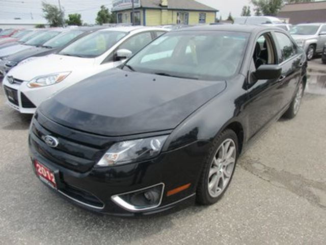 2012 ford fusion power equipped se model 5 passenger 2 5l dohc bradford ontario car for. Black Bedroom Furniture Sets. Home Design Ideas