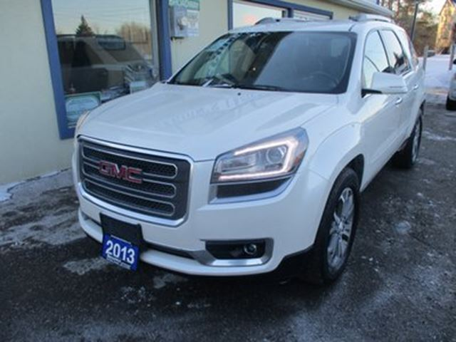 2013 GMC Acadia LOADED SLT EDITION 7 PASSENGER 3.6L - V6.. AWD. in Bradford, Ontario