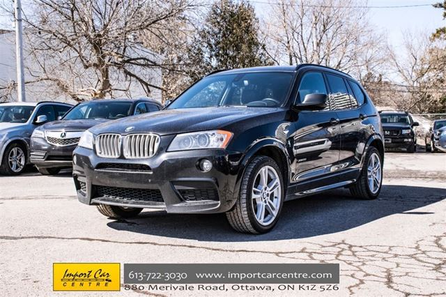 2014 bmw x3 xdrive35i m sport pkg price reduced call ottawa ontario car for sale 2734602. Black Bedroom Furniture Sets. Home Design Ideas