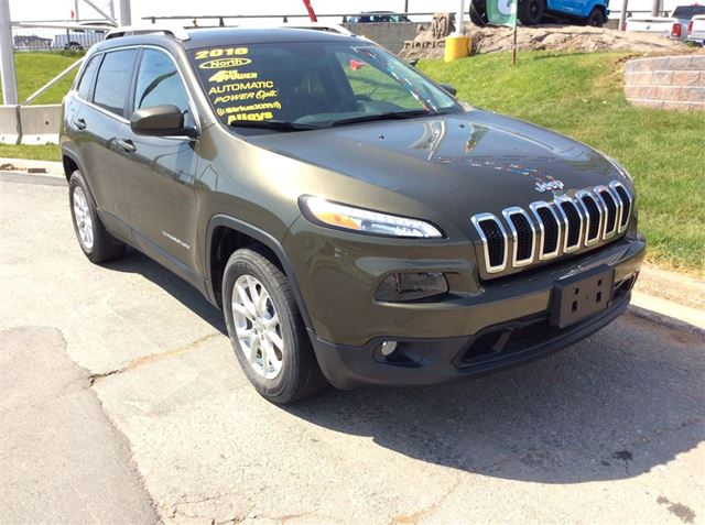 2016 JEEP CHEROKEE NORTH/PWR OPTS/4X4 in Dartmouth, Nova Scotia