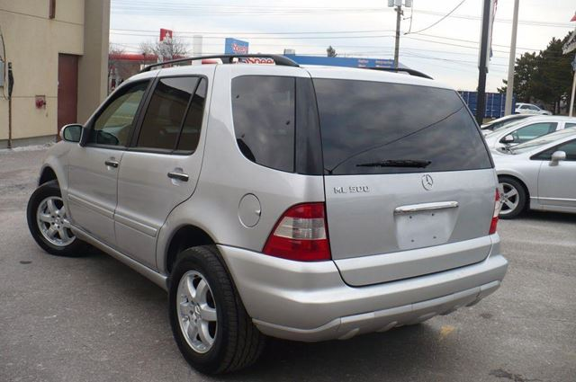 2005 mercedes benz m class ml500 5 0l toronto ontario for 2005 mercedes benz ml350 for sale