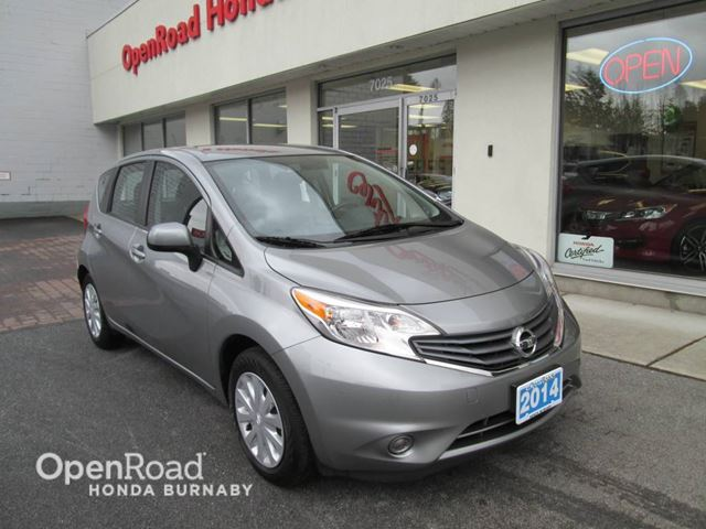 2014 nissan versa sv burnaby british columbia used car. Black Bedroom Furniture Sets. Home Design Ideas