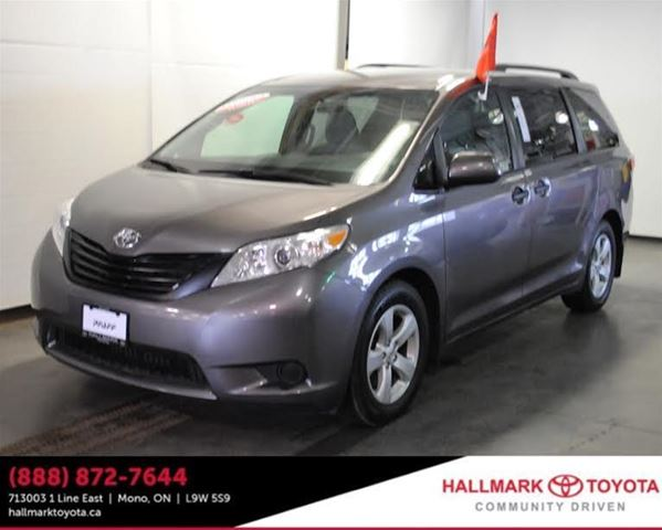 2016 toyota sienna 7 pass v6 6a orangeville ontario used car for sale 2734497. Black Bedroom Furniture Sets. Home Design Ideas