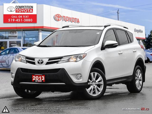 2013 toyota rav4 limited one owner no accidents london ontario used car for sale 2734589. Black Bedroom Furniture Sets. Home Design Ideas