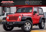 2017 Jeep Wrangler New Car Sport S 4x4 Manual PwrCnvncePKG PwrLocks 17SilverAlloys  in Thornhill, Ontario