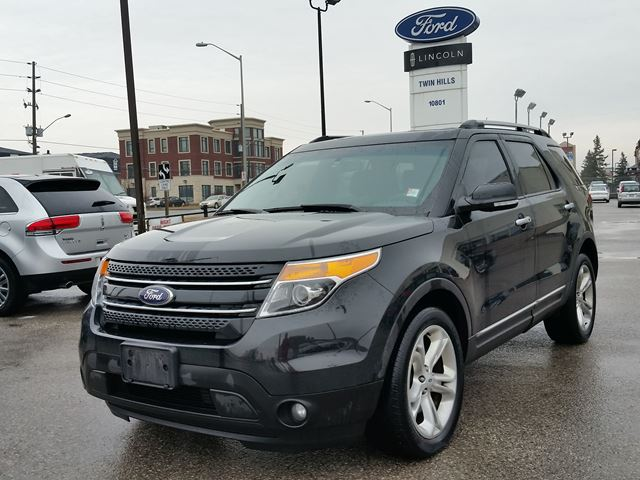 2014 ford explorer limited richmond hill ontario used car for sale 2733837. Black Bedroom Furniture Sets. Home Design Ideas