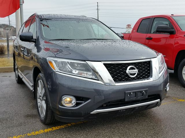 2014 nissan pathfinder aurora ontario used car for sale. Black Bedroom Furniture Sets. Home Design Ideas