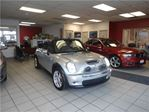 2008 MINI Cooper S CONVERTIBLE LOW KM NO ACCIDENT SAFETY ETEST WARR in Oakville, Ontario