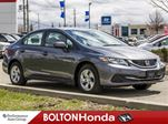2015 Honda Civic LX Heated Seats Backup Cam Accident Free in Bolton, Ontario