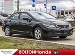 2015 Honda Civic LX Heated Seats Bluetooth Accident Free in Bolton, Ontario